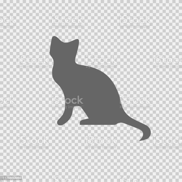Cat vector icon eps 10 simple isolated illustration vector id1175850984?b=1&k=6&m=1175850984&s=612x612&h=08cvnuhp6gzrjd fytdkx qwk7ol iridqbgkyl4dm8=