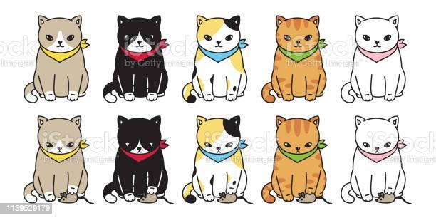 Cat vector kitten calico black icon logo character cartoon mouse rat vector id1139529179?b=1&k=6&m=1139529179&s=612x612&h=ye8zgfj5qlizxflvce3q6e6rkal6uqq2tfwvsecuxr8=