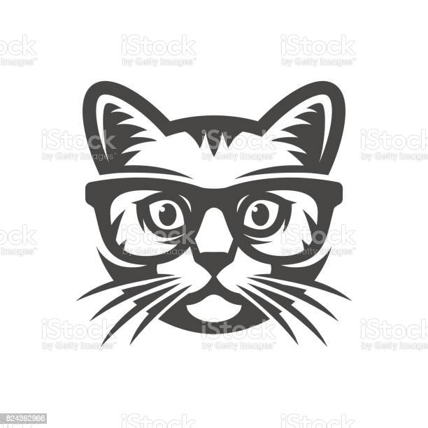 Cat with glasses geek vector id824362966?b=1&k=6&m=824362966&s=612x612&h=ynxgyvfb37gnbjowccb6rkh1f2thvkewwfmkcbp9gni=