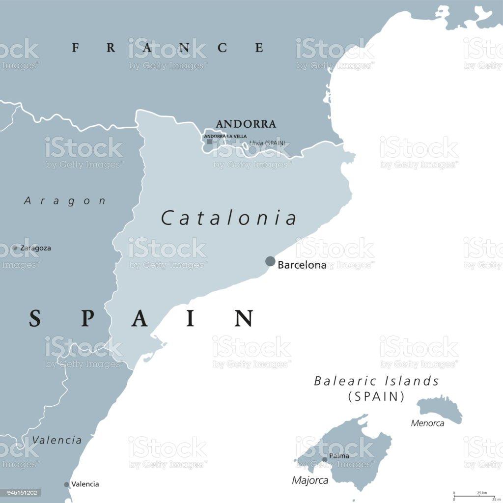 Catalonia autonomous community of spain gray map stock vector art catalonia autonomous community of spain gray map royalty free catalonia autonomous community of spain gumiabroncs Image collections