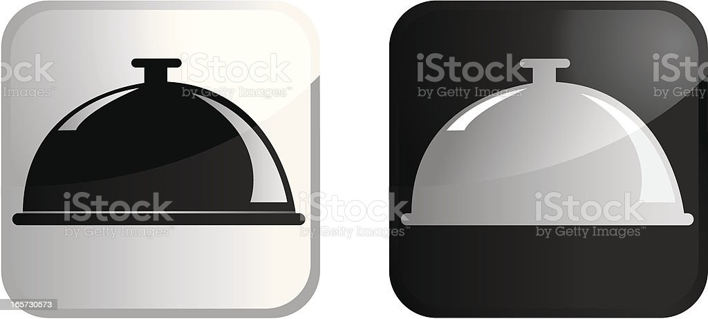 Catering Icon royalty-free stock vector art