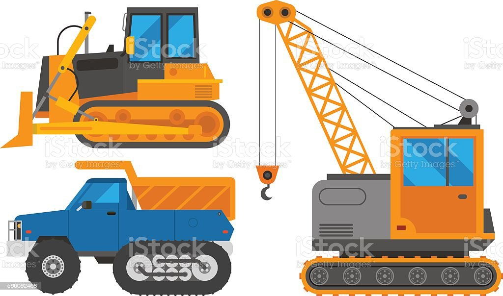 Caterpillar vehicle tractor vector royalty-free caterpillar vehicle tractor vector stock vector art & more images of agricultural machinery