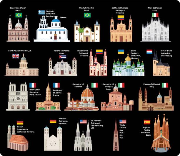 大聖堂 - ウクライナ点のイラスト素材/クリップアート素材/マンガ素材/アイコン素材