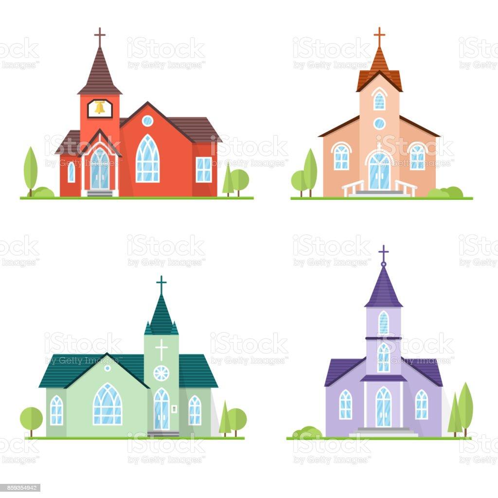 Catholic Church landscape