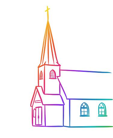 Catholic Church Rainbow