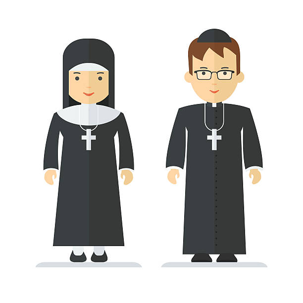 Royalty Free Clerical Collar Clip Art, Vector Images ...