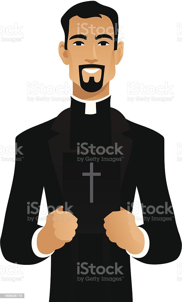 royalty free priest clip art vector images illustrations istock rh istockphoto com clipart priest saying mass priest clipart gif