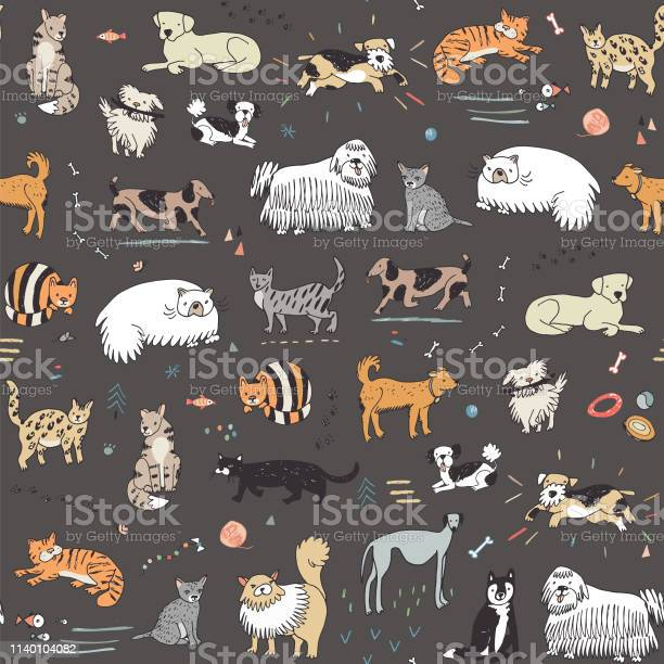 Cats and dogs pattern vector id1140104082?b=1&k=6&m=1140104082&s=612x612&h=v0v yzduiyk1fxa8kyppdkladlhuf dwei8eraf3g5s=