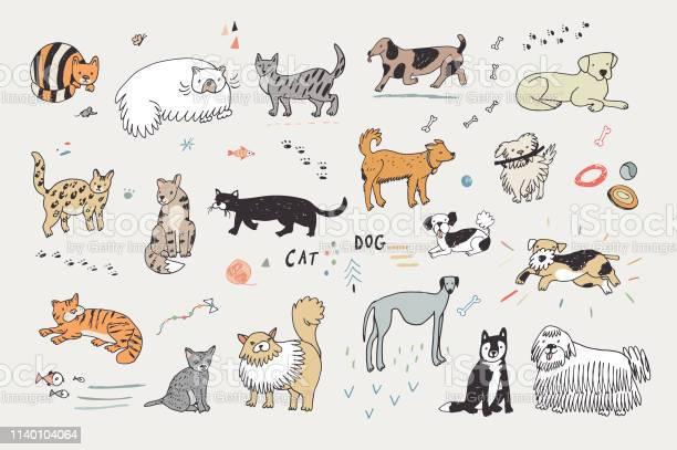 Cats and dogs set vector id1140104064?b=1&k=6&m=1140104064&s=612x612&h=gu7dkmy6plgwyrkgxrydjjyac6vwk6gdz2yysc ge70=