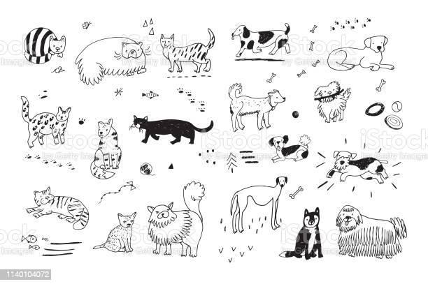 Cats and dogs set vector id1140104072?b=1&k=6&m=1140104072&s=612x612&h=idqnbkfitfvkfyddmc9ulmo3geg9eqlyrjdvwsz1xkm=
