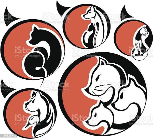 Cats and dogs vector id180926442?b=1&k=6&m=180926442&s=612x612&h=rwoluknfhaotkiefoa4ewsehd uuab 7nniuz8 nev8=