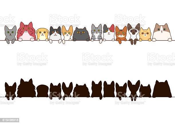 Cats border set with silhouette vector id619498918?b=1&k=6&m=619498918&s=612x612&h=qnrquk2fg3ugppplc1trnk8iz2wsam0h4rmijredytc=