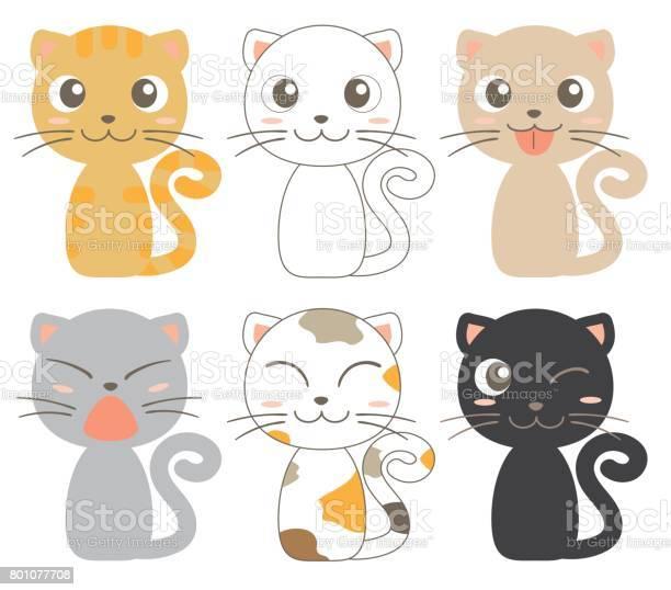 Cats character 6set vector id801077708?b=1&k=6&m=801077708&s=612x612&h=h9jagqwolg9hyjmmhiio zey5dj7qy1eqhbdapdexta=
