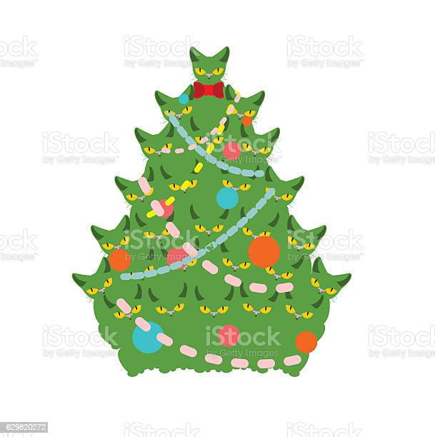 Cats christmas tree spruce of pet firtree from cat new vector id629820272?b=1&k=6&m=629820272&s=612x612&h=agjcobsimwwdc01ege5 b82ytlczkkhi9odelkqokrq=