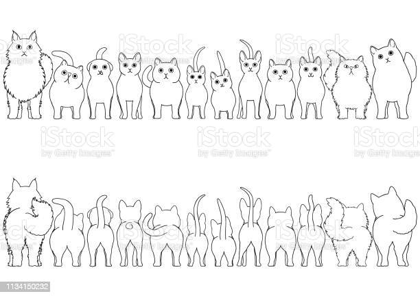 Cats line art border set vector id1134150232?b=1&k=6&m=1134150232&s=612x612&h=5vgmvte5gkcuixnty91ybl9m ydypfcyuor0iebqcfa=