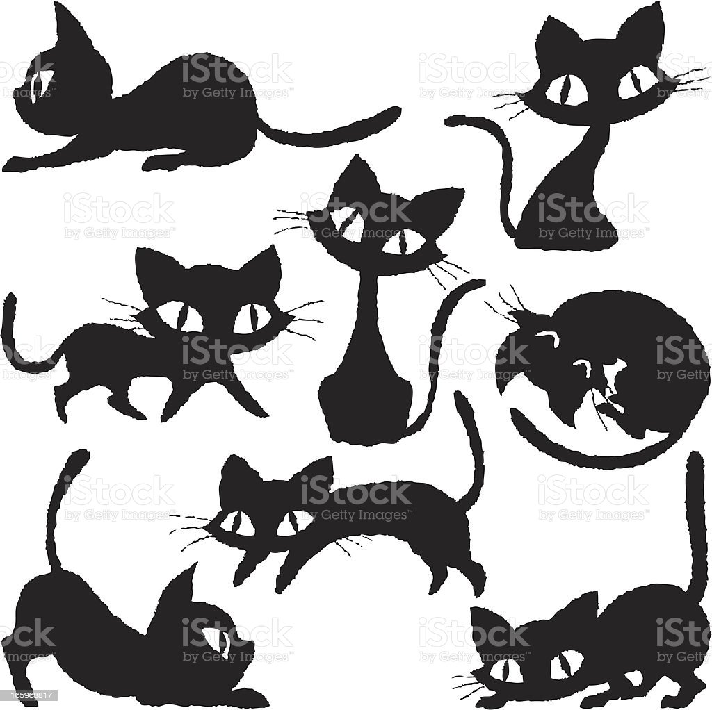 Cats of various royalty-free cats of various stock vector art & more images of animal