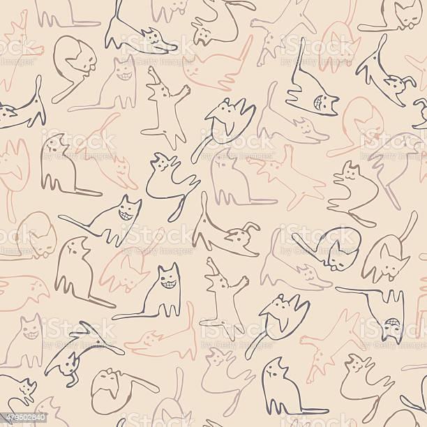 Cats pattern vector id479502840?b=1&k=6&m=479502840&s=612x612&h=ivdondl2q2yx3got4fe4yxydxmiyfcwhby4f0auijpe=