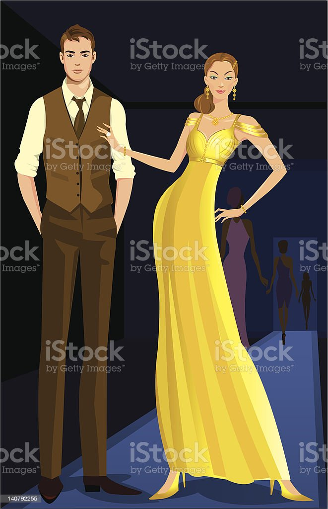 catwalk fashion show royalty-free catwalk fashion show stock vector art & more images of adult