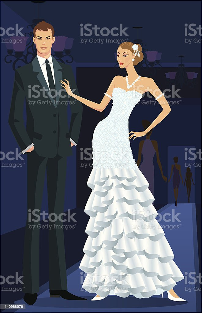 royalty free fashion show runway clip art vector images