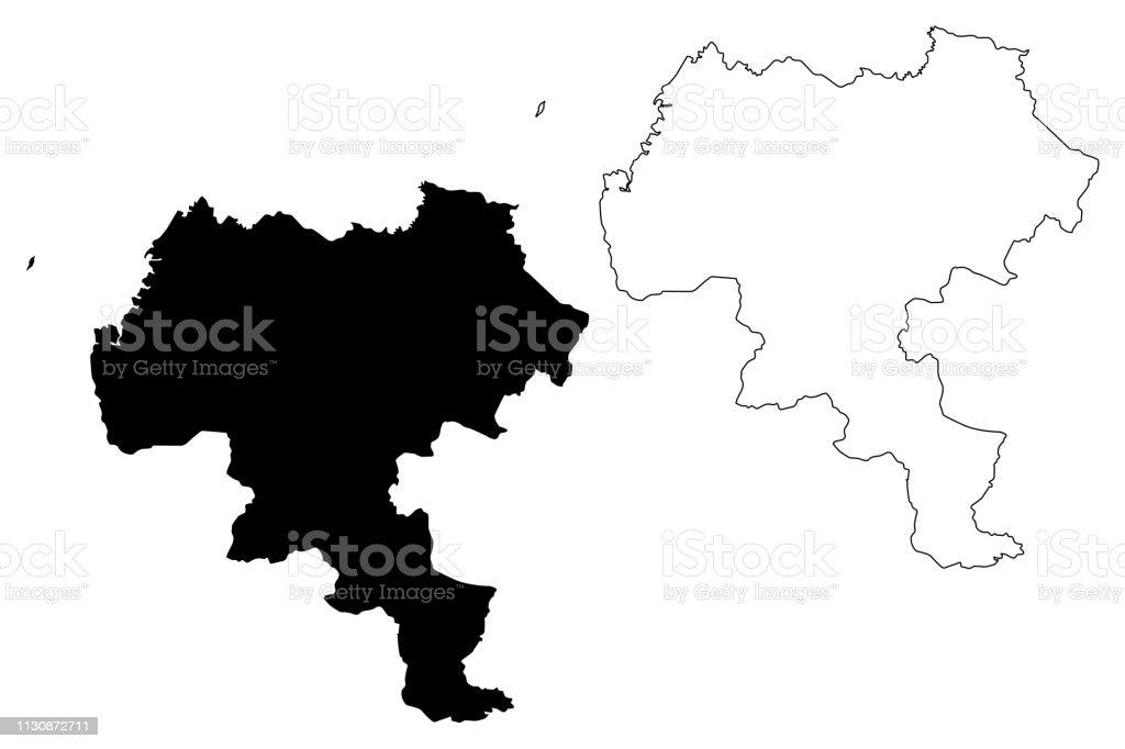 Picture of: Ilustracion De Vector Del Mapa Del Departamento Del Cauca Y Mas Vectores Libres De Derechos De Abstracto Istock