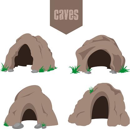 Cave entrances