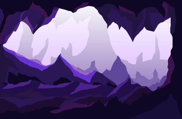 stockillustraties, clipart, cartoons en iconen met grot - grot