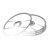 cd compact disk icon image