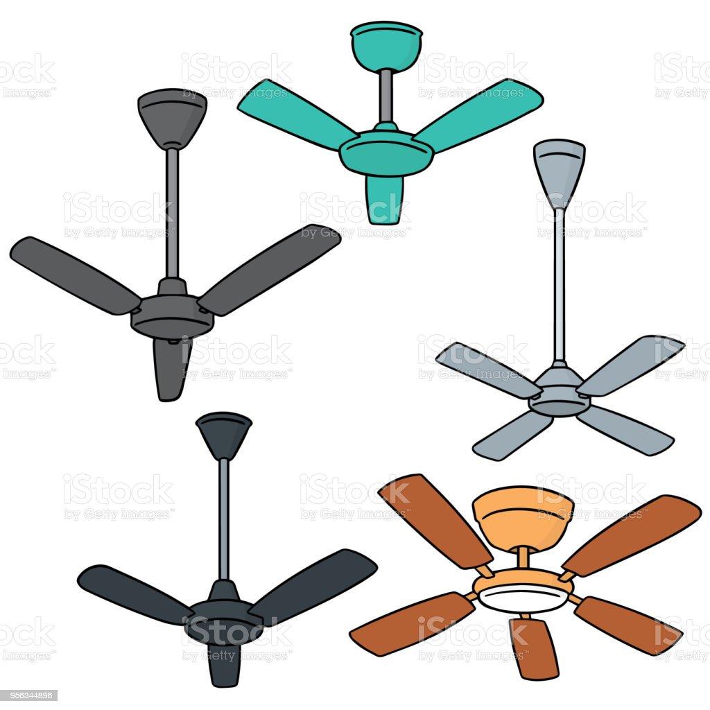 Ventilateur De Plafond Vecteurs libres de droits et plus d