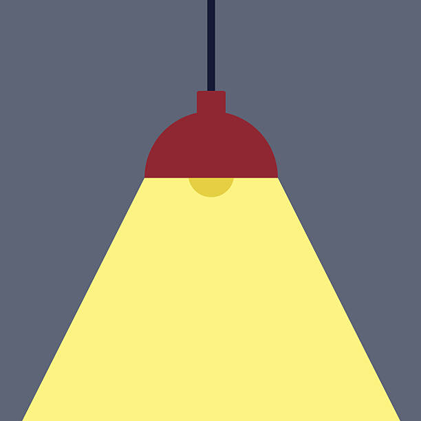 Black Ceiling Lamp Royalty Free Vector Image: Royalty Free Ceiling Lighting Clip Art, Vector Images