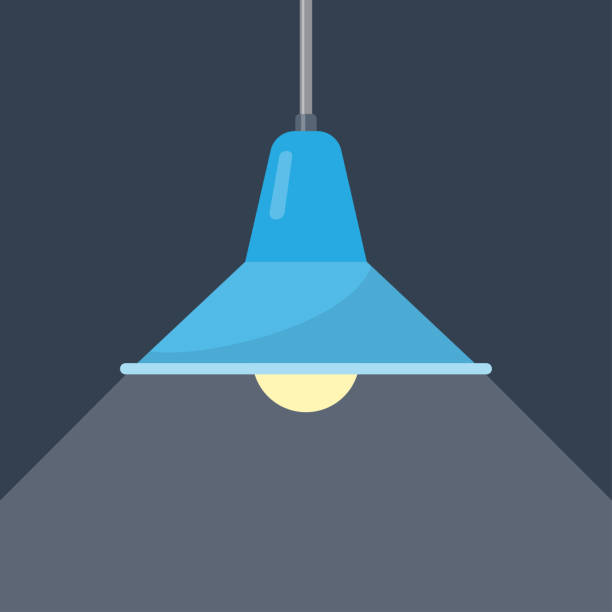 Best Ceiling Lamp Illustrations Royalty Free Vector