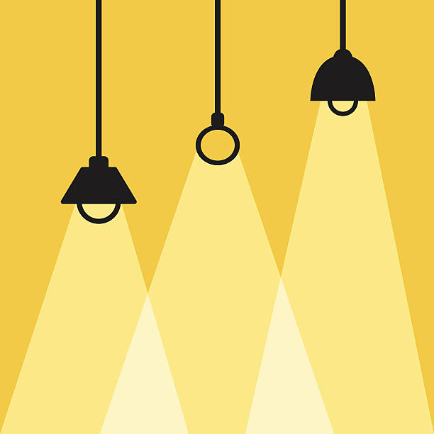 Black Ceiling Lamp Royalty Free Vector Image: Royalty Free Ceiling Light Clip Art, Vector Images