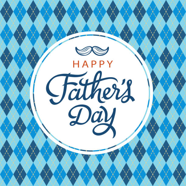 celebrate father's day - fathers day stock illustrations, clip art, cartoons, & icons