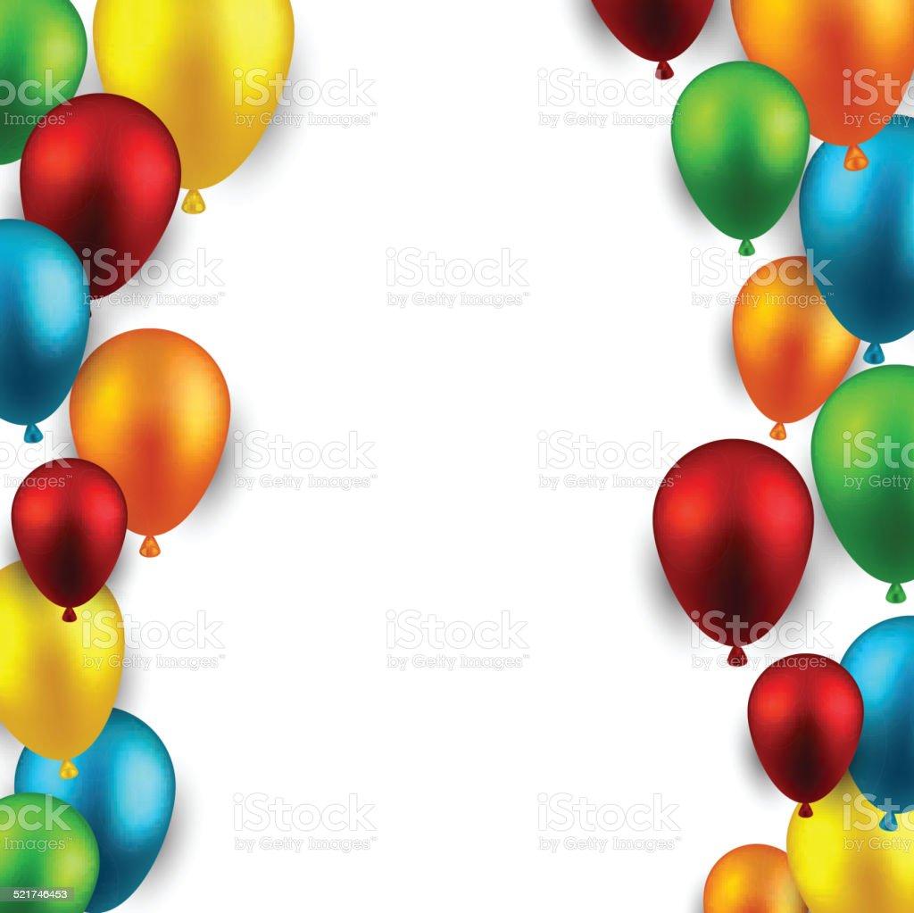 Celebrate cornice sfondo con palloncini immagini - Immagine con palloncini ...