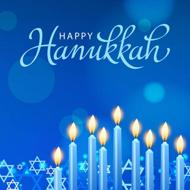 ilustraciones, imágenes clip art, dibujos animados e iconos de stock de celebrate hanukkah - jánuca