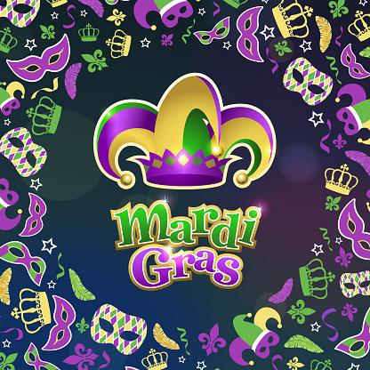Celebrate Mardi Gras with Jester Hat