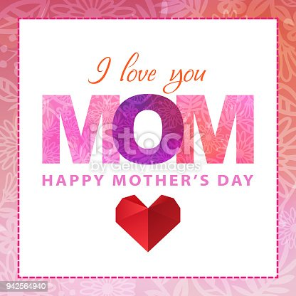 istock Celebrate Mother's Day 942564940
