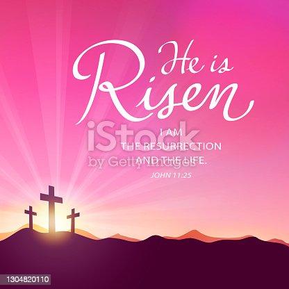 istock Celebrate the Risen Savior 1304820110