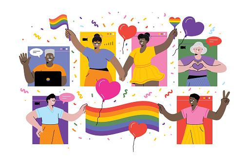 Celebrating Pride online