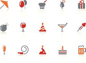 Celebration and party icons | Alto series