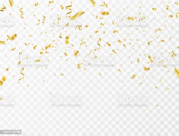 Celebration background template with confetti and gold ribbons luxury vector id1044776786?b=1&k=6&m=1044776786&s=612x612&h=jtzc65tdggq0xzrygzpznf7oajaxlbhrnhgrmi 7pa0=