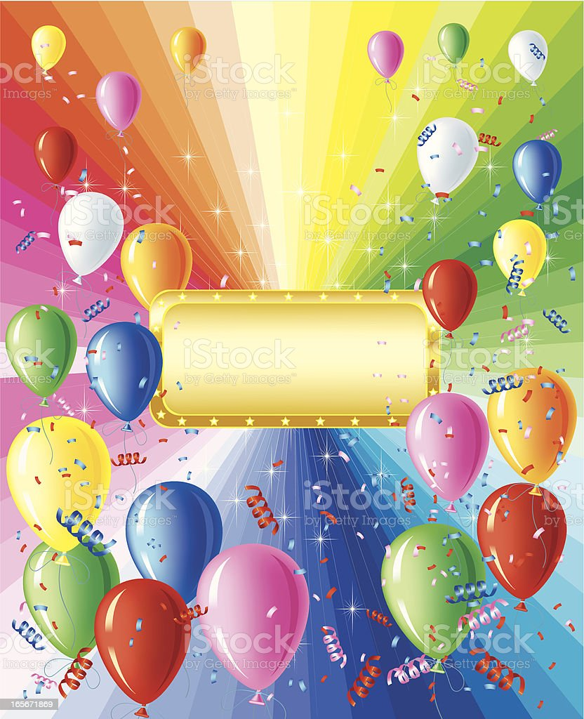 Celebration Banner royalty-free stock vector art