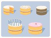 istock Celebration Cakes 165068692