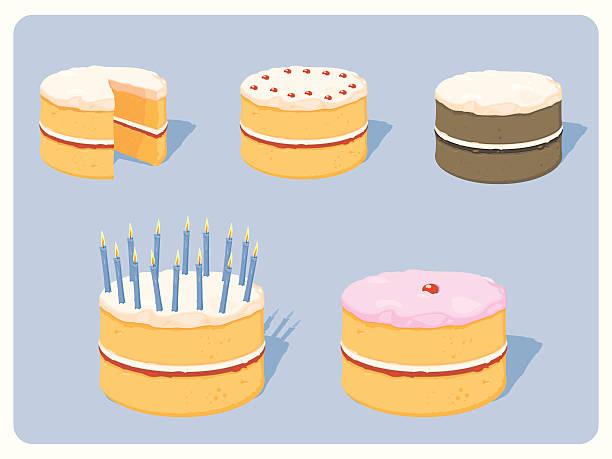 Royalty Free Sponge Cake Clip Art, Vector Images & Illustrations ...