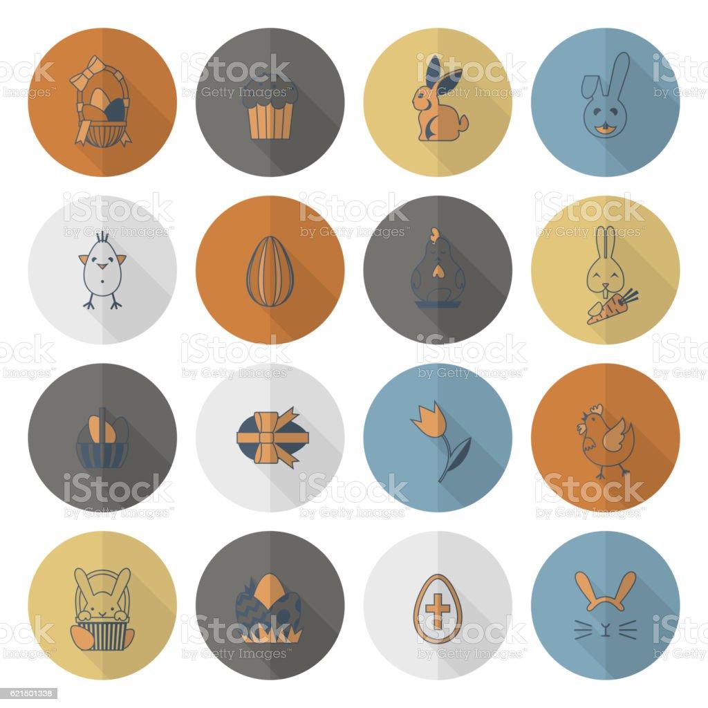 Feiern Ostern Symbole  Lizenzfreies feiern ostern symbole stock vektor art und mehr bilder von altertümlich
