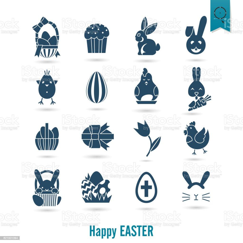 Feiern Ostern Symbole  Lizenzfreies feiern ostern symbole stock vektor art und mehr bilder von bildhintergrund