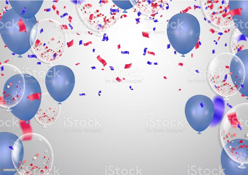 Banner Feliz Aniversario: Vetor De Banner De Festa De Feliz Aniversário Comemoração