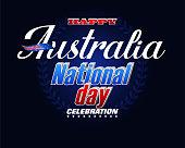 Celebration of Australia National holiday