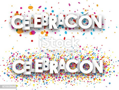 istock Celebration paper banners. 925908688