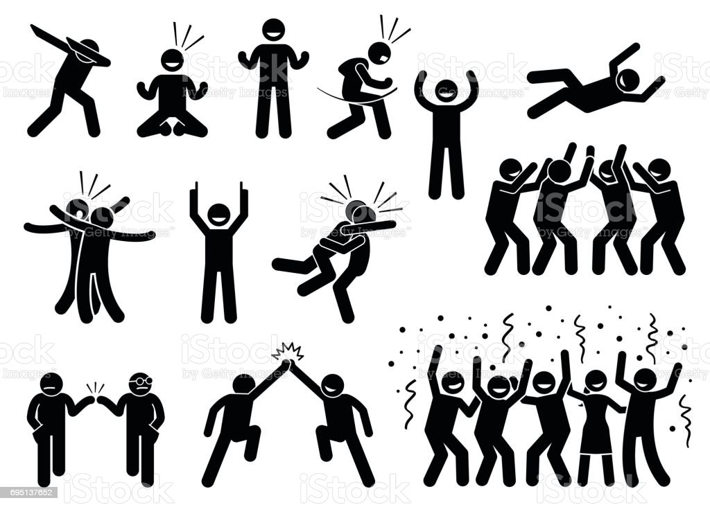 vector dab dance clipart vector design