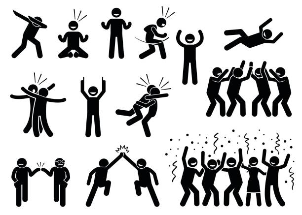 royalty free dab dance clip art vector images illustrations istock